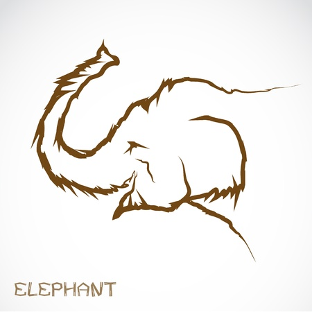 an elephant  Vector