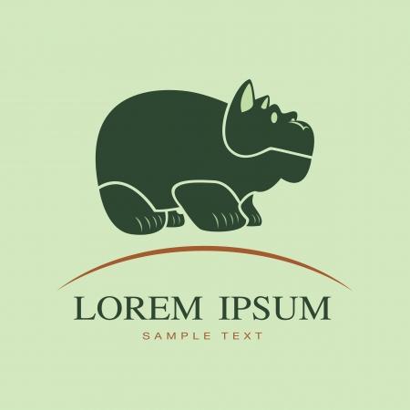 image of an hippopotamus  Stock Vector - 22527316