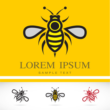 Set of vector bee icons - Illustrations Vectors Vector