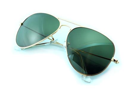 sunglasses isolated: Beautiful sunglasses isolated on white background Stock Photo