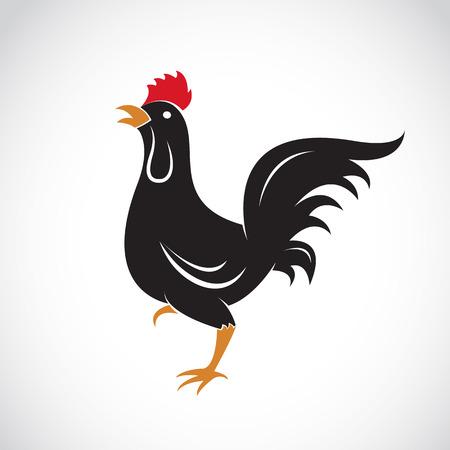 Vector Bild von einem Huhn Design auf weißem Hintergrund