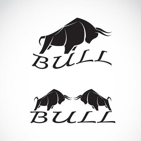 corrida: bull design on a white background.