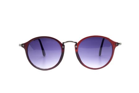 Modern fashionable sunglasses isolated on white background, Glasses Stock Photo