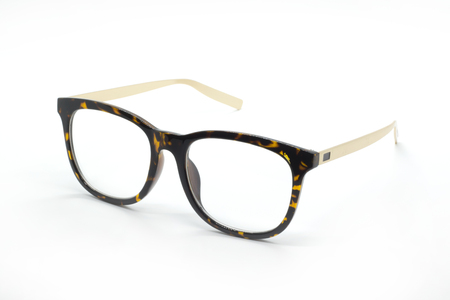 Modern fashionable spectacles isolated on white background, Perfect reflection, Glasses Stock fotó - 71983367