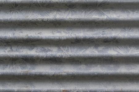 Afbeelding van achtergrondstructuur van metaal roestig zink voor uw ontwerp.