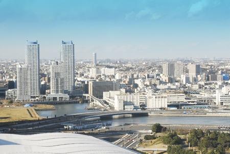 bird eye view: City bird eye view Japan
