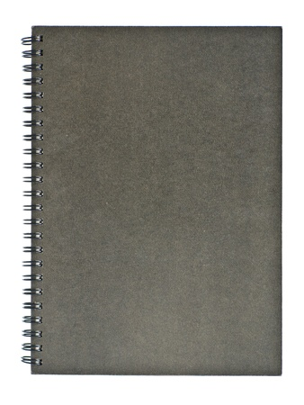 Note book fornt cover Stock Photo - 9238252