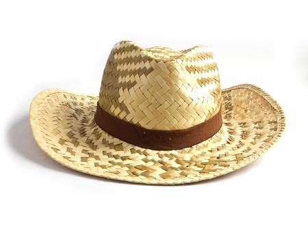 Wicker hat photo