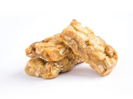 french ethnicity: Georgian confection made of caramelized nuts