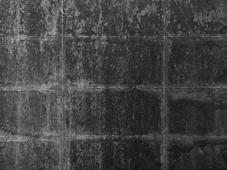 Durty concrete wall black and white Standard-Bild