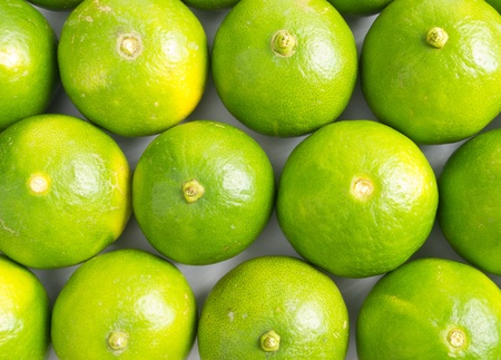 Fresh limes background