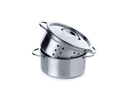 pot hole: kitchenwares for children imagination on white background