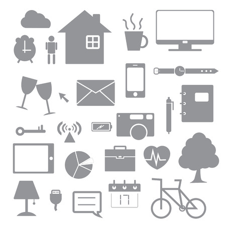 daily life icon Vector