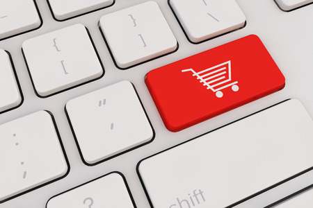 e commerce icon: Ecommerce internet shopping the symbol of ecommerce online shopping concept.