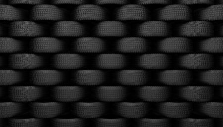 spare part: Black tire rubber, vehicle part, spare part. Stock Photo
