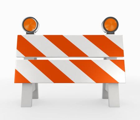 3D illustration of under construction concept