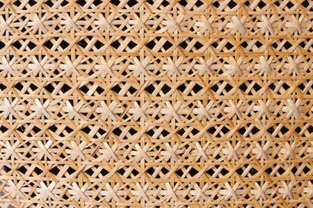 Pattern of Thai style basketry image photo