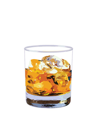 whisky: whisky on the rock