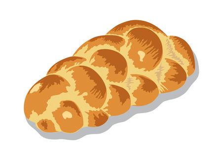 zopf or challah bread