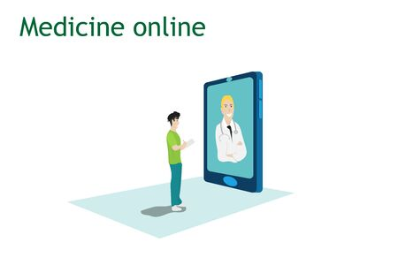 Online treatment Specialist physicians provide 24-hour hotline consultation on mobile applications.