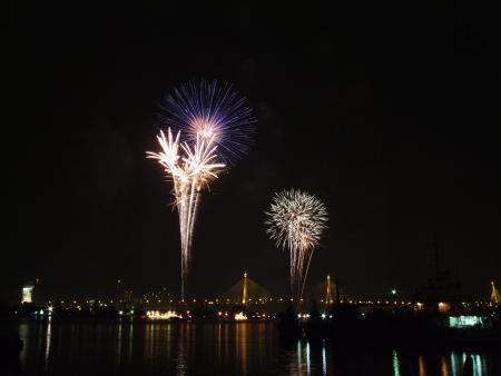 brink:  fireworks beautiful  in rever