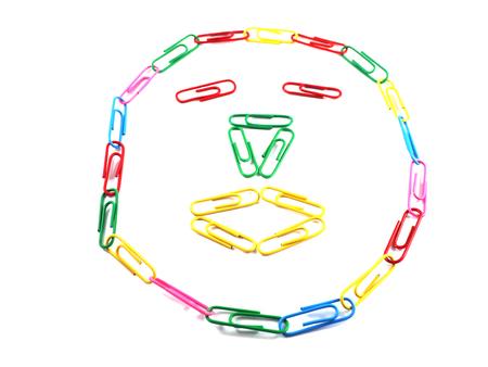 clip paper concept