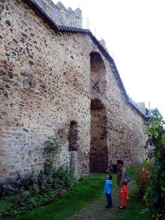 City Wall in Hillesheim City, Eiffel mountain range, Rhineland Palatinate, Germany, Europe. Editorial