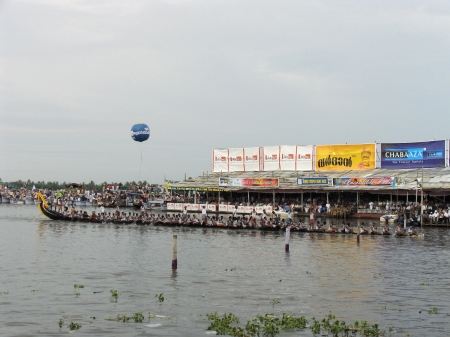 alappuzha: Snake Boat Race, a Colourful water sport in Kerala, Alleppy (Alappuzha), India