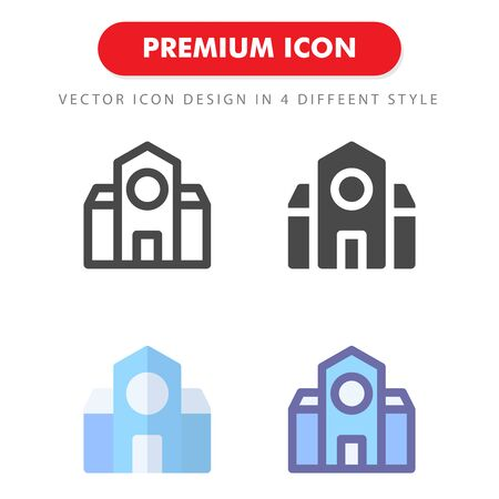 school icon pack isolated on white background. for your web site design, logo, app, UI. Vector graphics illustration and editable stroke.