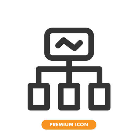 server  icon pack isolated on white background. for your web site design,  app, UI. Vector graphics illustration and editable stroke. 일러스트