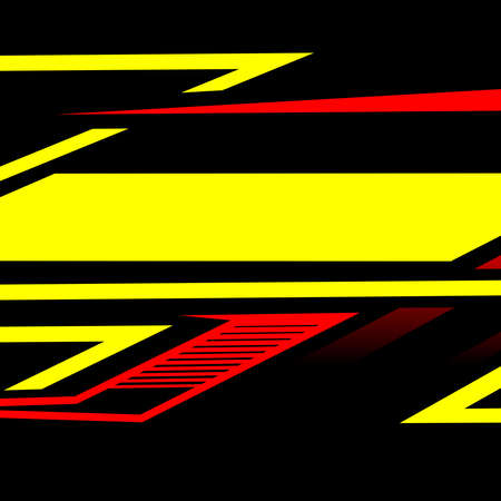 Abstract racing background vector design Çizim