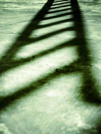 Shadow of staircase photo