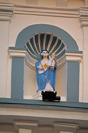 The Church Of Our Lady Of The Rosary, Margao, Goa, India Stock Photo - 27182763