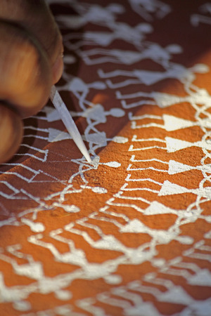 Warli Painting, India photo