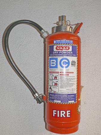 A cylinder with fire resistant gas