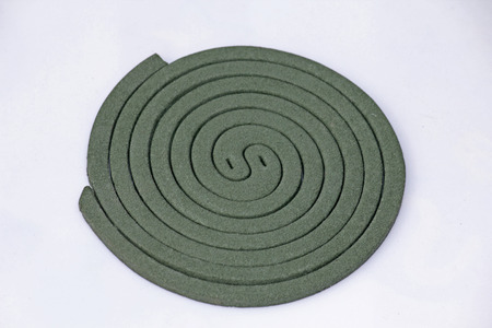 Mosquito coil, close-up photo