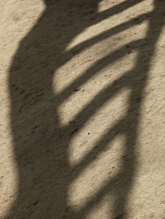 Shadow of a ladder photo
