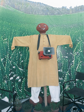 Scarecrow Electronic sound Scarecrow With Motion Detector photo