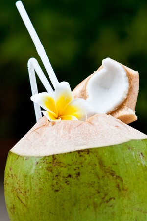 Fresh coconut photo