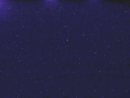 Flying dust particles on a black background. Stars in summer days