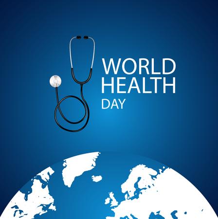 World Health Day Stock Illustratie