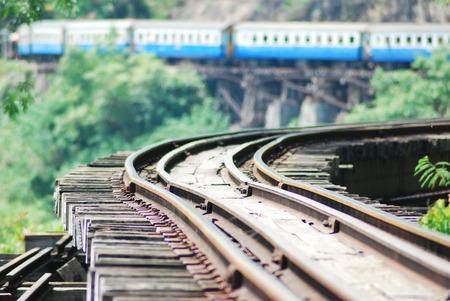 kanchanaburi: train on rail way station kanchanaburi thailand