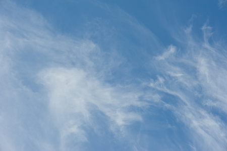 nimbus: the beautiful white cloud cloudy nimbus blue sky nature landscape background abtract summer spring Stock Photo