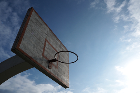 the basketball board is the symbol of victory game Imagens