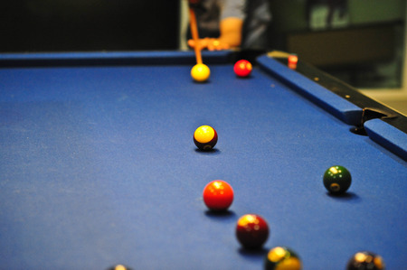 snooker sport or pool is the indoor activity for relaxation