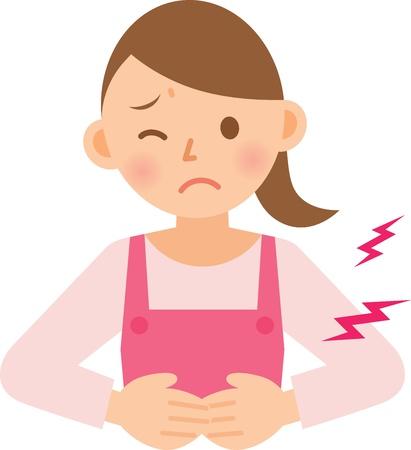 diarrea: mujer