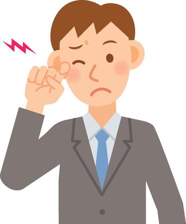 ビジネスマンのベクトル イラスト  イラスト・ベクター素材