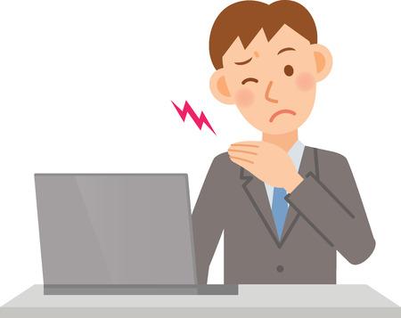 ビジネスマンのイラスト  イラスト・ベクター素材