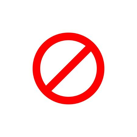prohibited icon vector illustration design icon template Vektoros illusztráció