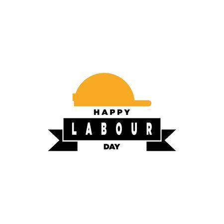 labour day vector graphic design illustration